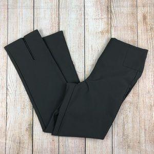 ATHLETA Gray Wander Slim Straight Crop Pants
